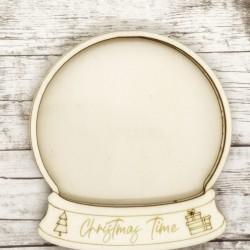 Christmas Time shaker in legno - Krea