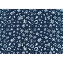 opannolenci fiocchi di neve blu notte/bianco