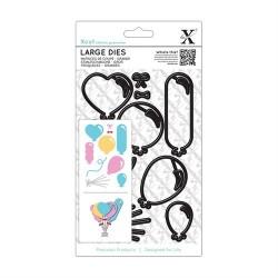 XCUT Large Die - Balloons (10 pezzi)