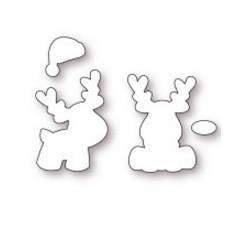 Fustelle la coppia creativa renne di Natale