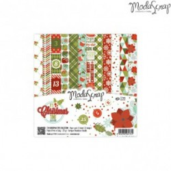 Paper Pack Modascrap It's Christmas time 15x15cm