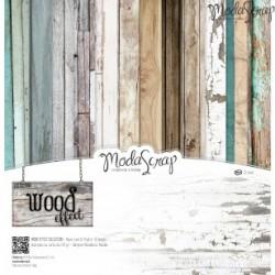 Paper Pack Modascrap Wood effect 30,5x30,5cm