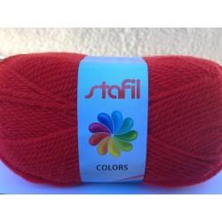Gomitolo lana sintetica 50gr/133mt Rosso