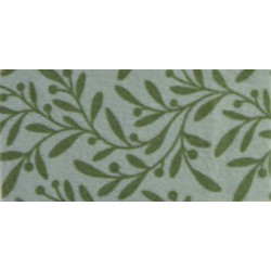 Pannolenci stampato ulivo grigio argentato/verde oliva
