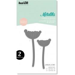 Fustella Kesi'art metaliks dandelions
