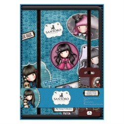 Collectable Rubber Stamp Storage Case - Santoro (Include No. 1 Ruby Stamp)