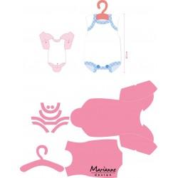 Marianne Design Collectables Eline's baby onesie
