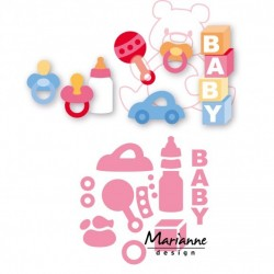 Marianne Design Collectables Eline's baby essentials