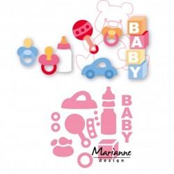 Marianne Design Collectables Eline's baby essentials