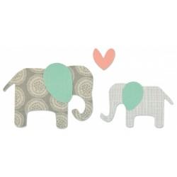Sizzix Bigz Die Elephants (Elefante)