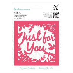 XCUT Dies - Just for You Topper (1pezzo)