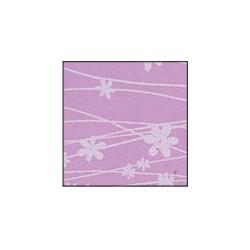 Foglio Gomma Crepla 2mm glicine pastello / fiori bianchi 40x60cm