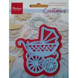 Marianne Design Creatables Baby Carriage (passeggino)