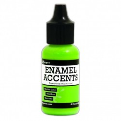 Ranger enamel accents electric lime