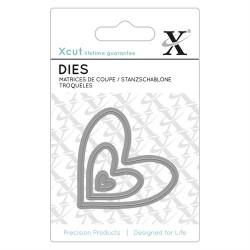 XCUT Mini Die (3pz) - Nesting Hearts