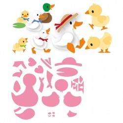 Marianne Design Collectables Eline's duck family