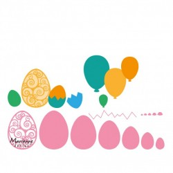 Marianne Design Collectables easter eggs