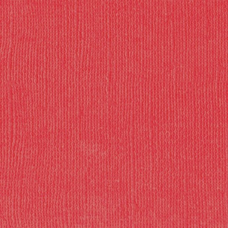 "Florence cardstock texture (simil bazzil) 12x12"" 216gr poppy"