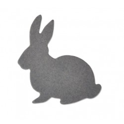 Sizzix Thinlits die home cute bunny