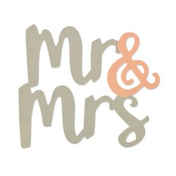 Sizzix Bigz Die - Mr & Mrs