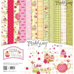 Paper Pack Modascrap Cucina with love 30,5x30,5cm