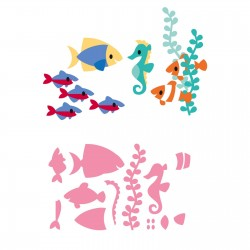 Marianne Design Collectables Eline's tropical fish