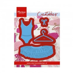 Marianne Design Creatables Ballet Dress 3pz.