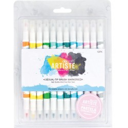 Docrafts ARTISTE (Pastels collection) 12pz