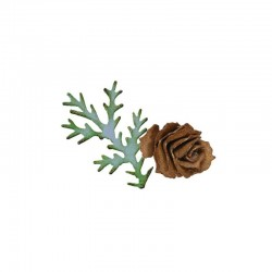 Sizzix Bigz Die - Tattered Pinecone