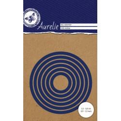 Set Fustelle Aurelie Circle Nesting Die (6pz)