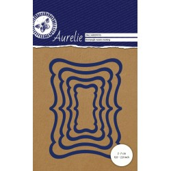 Set Fustelle Aurelie Rectangle waves Nesting Die (6pz)