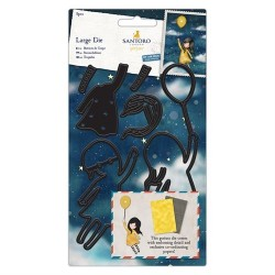Set fustelle Dies - Santoro - Fly Away With Me (8pz)