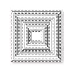 Fustelle la coppia creativa quadrati cuciti