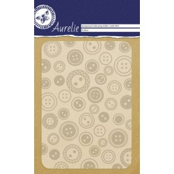 Embossing Folder Aurelie Buttons Background