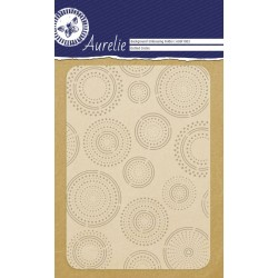 Embossing Folder Aurelie Dotted Circles Background