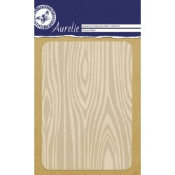 Embossing Folder Aurelie Textured Wood Background