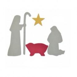 Sizzix Bigz Die - Nativity scene- Natività