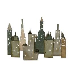 Sizzix Thinlits die set  Cityscape Metropolis