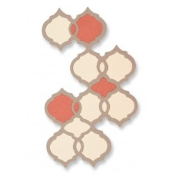 Sizzix Thinlits die Maroccan Tile