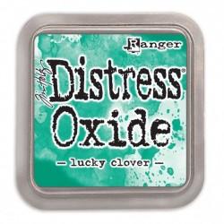 Ranger Tim Holtz distress oxide lucky clover