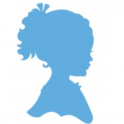 Marianne Design Creatables silhouette girl ponytail
