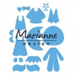 Marianne Design Creatables Kim's buddies
