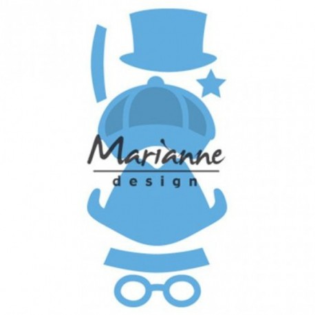Marianne Design Creatables Kim's buddies boy set