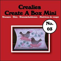 Crealies Create A Box Mini n. 03 Pillowbox