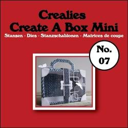 Crealies Create A Box Mini n. 07 Suitcase