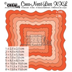 Crealies Crea-nest-dies XXL no. 2 die ornament square