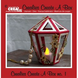Crealies Create A Box no. 1 Lantern