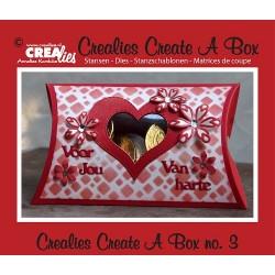 Crealies Create A Box no. 3 cushions box