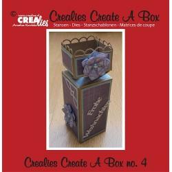 Crealies Create A Box no. 4 half toffee box