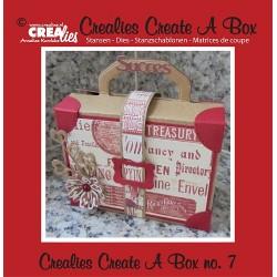 Crealies Create A Box no. 7 Suitcase